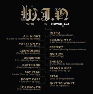 Novakillz - W.I.N [Who Is Novakillz] tracklisting | AceWorldTeam.com