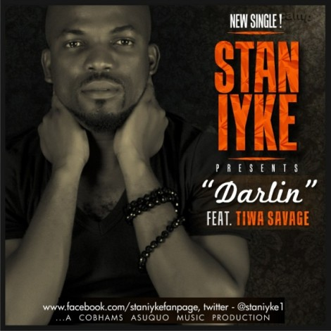 Stan Iyke ft. Tiwa Savage - DARLIN Artwork | AceWorldTeam.com