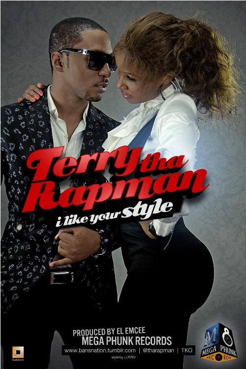 Terry tha Rapman - I LIKE YOUR STYLE [prod. by El Emcee] ArtWork | AceWorldTeam.com