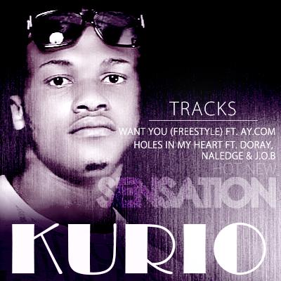 Kurio - WANT U [Freestyle] ft. AY.com + HOLES IN MY HEART ft. Doray, Naledge 'n' JOB Artwork | AceWorldTeam.com