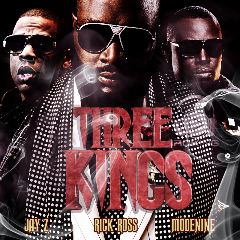 Modenine ft. Dj Black, Rick Ross & Jay-Z - 3 Kings freestyle | AceWorldTeam.com