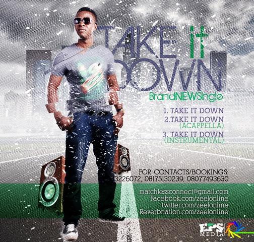 Zeel - TAKE IT DOWN [prod. by B-Myne] Artwork   AceWorldTeam.com