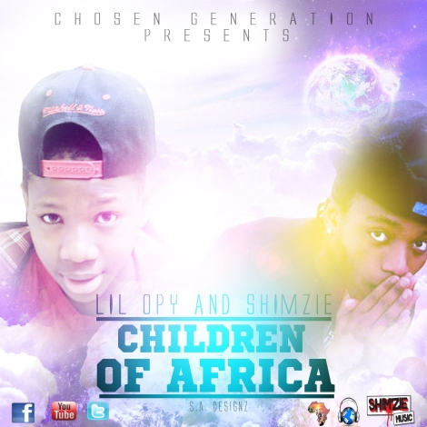 Children of Africa Front Cover new | AceWorldTeam.com