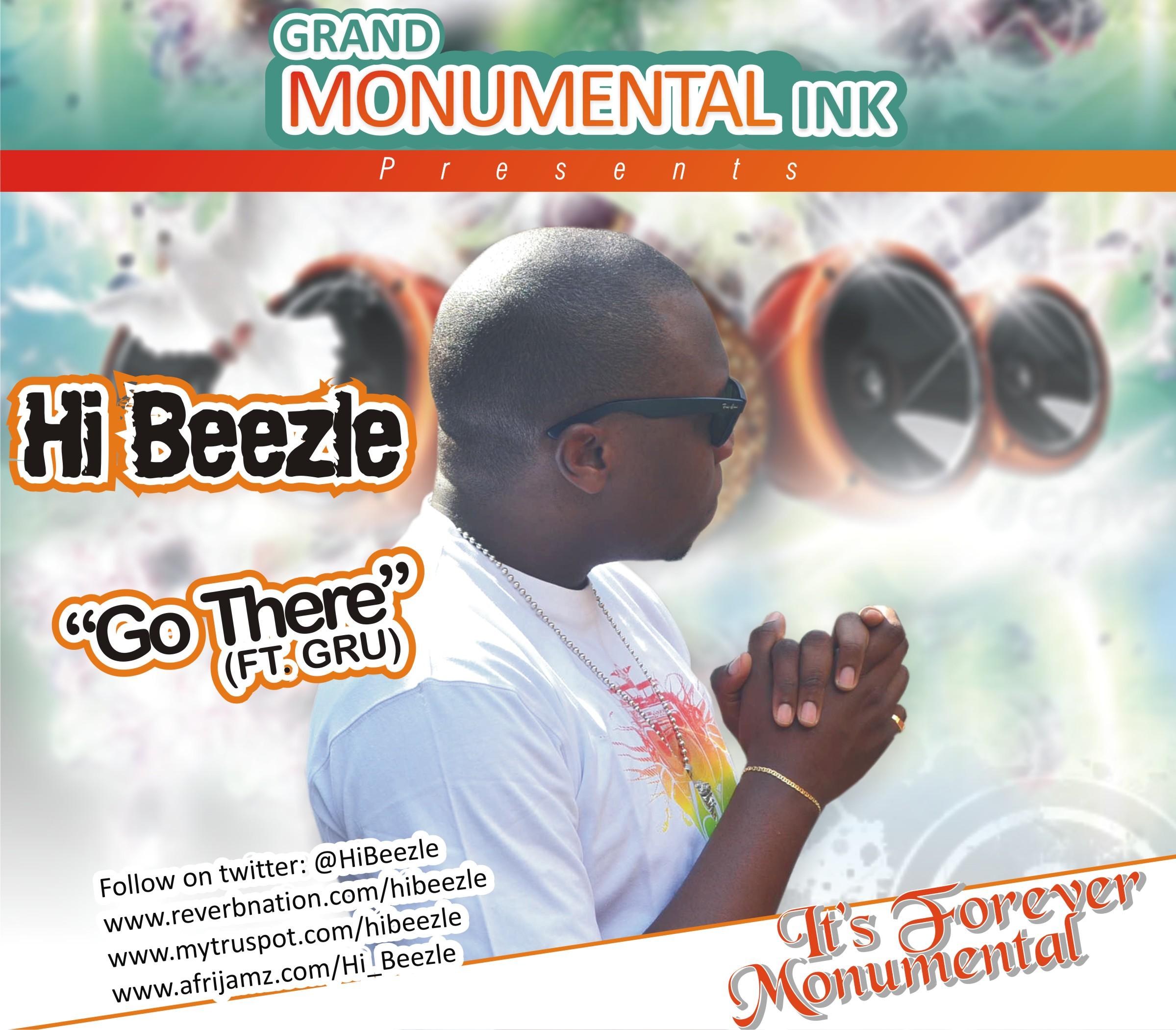 Hi Beezle ft. Gru - GO THERE [prod. by Bruva Muzik] Artwork | AceWorldTeam.com