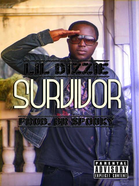 Lil' Dizzie ft. Botta Boi 'n' Olodo - Survivor [prod. by Dr. Spooky] Artwork   AceWorldTeam.com