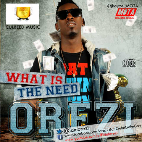 Orezi - WHAT IS THE NEED Artwork | AceWorldTeam.com