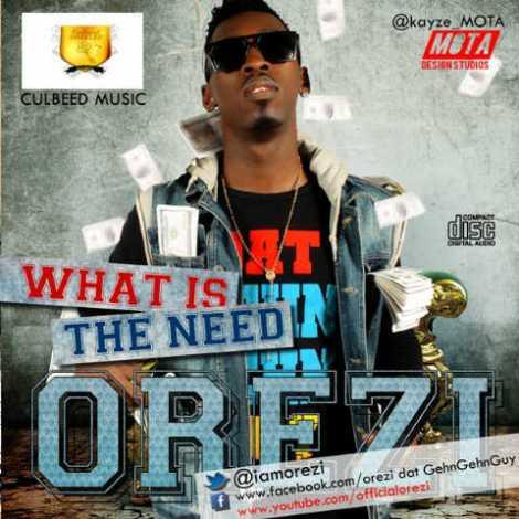 Orezi - WHAT IS THE NEED Artwork | AceWorldTeam.com