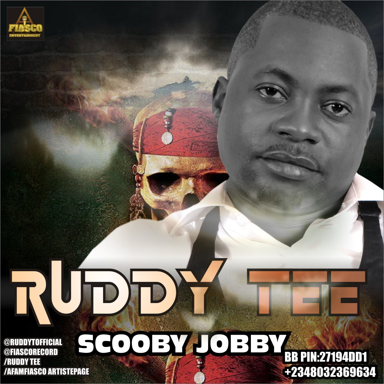 Ruddy Tee - Scooby Jobby Artwork | AceWorldTeam.com