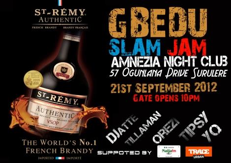 St. Rémy Gbedu Slam Jam | AceWorldTeam.com