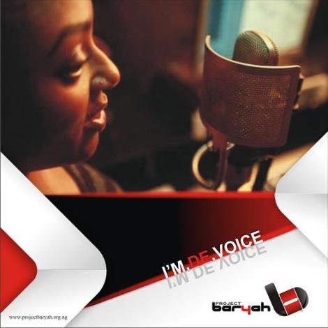 Bariyah - I'M THE VOICE Artwork | AceWorldTeam.com