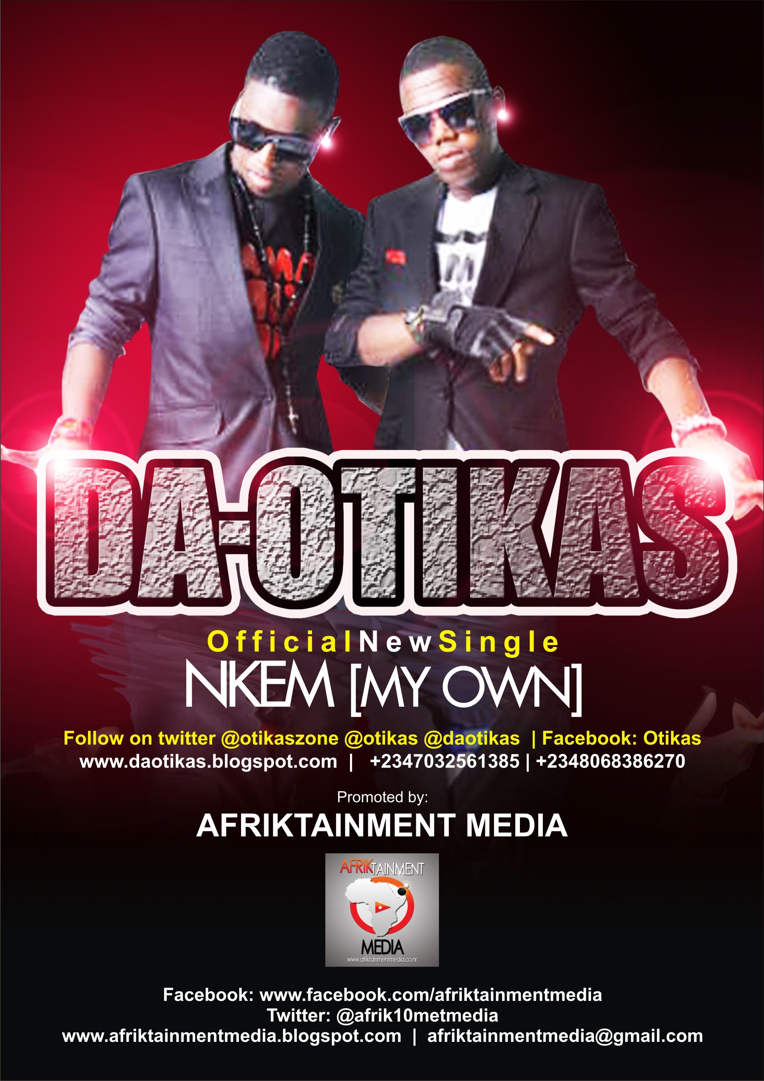 Da Otikas ft. David Jones David - [My Own] Artwork | AceWorldTeam.com