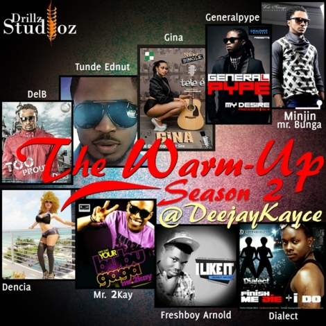 DJ Kayce - THE WARM UP SEASON 2 Artwork | AceWorldTeam.com