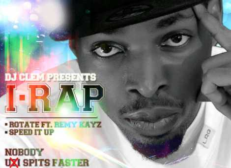 DJ Klem presents I-Rap - ROTATE ft. Remy Kayz + SPEED IT UP Artwork | AceWorldTeam.com