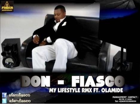 Don Fiasco ft. Olamide - My Lifestyle Remix Artwork | AceWorldTeam.com