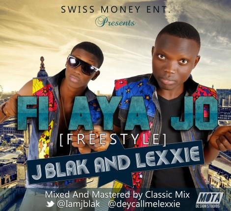 J'Blak & Lexxie - FI AYA JO [a Veecko Kyngz cover] Artwork   AceWorldTeam.com