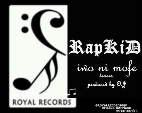 RapKiD ft. Raellar - IWO NI MOFE [prod. by O.J] Artwork | AceWorldTeam.com