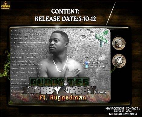 Ruddy Tee ft. Ruggedman - Scooby Jobby Remix Artwork | AceWorldTeam.com