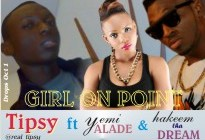 Tipsy ft. Yemi Alade & Hakym the Dream - GIRL ON POINT Artwork | AceWorldTeam.com