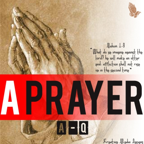A-Q - A PRAYER Artwork | AceWorldTeam.com