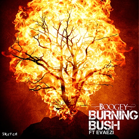 Boogey ft. Evaezi - BURNING BUSH Artwork | AceWorldTeam.com