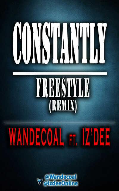 Iz'Dee - CONSTANTLY [a Wande Coal cover] Artwork | AceWorldTeam.com
