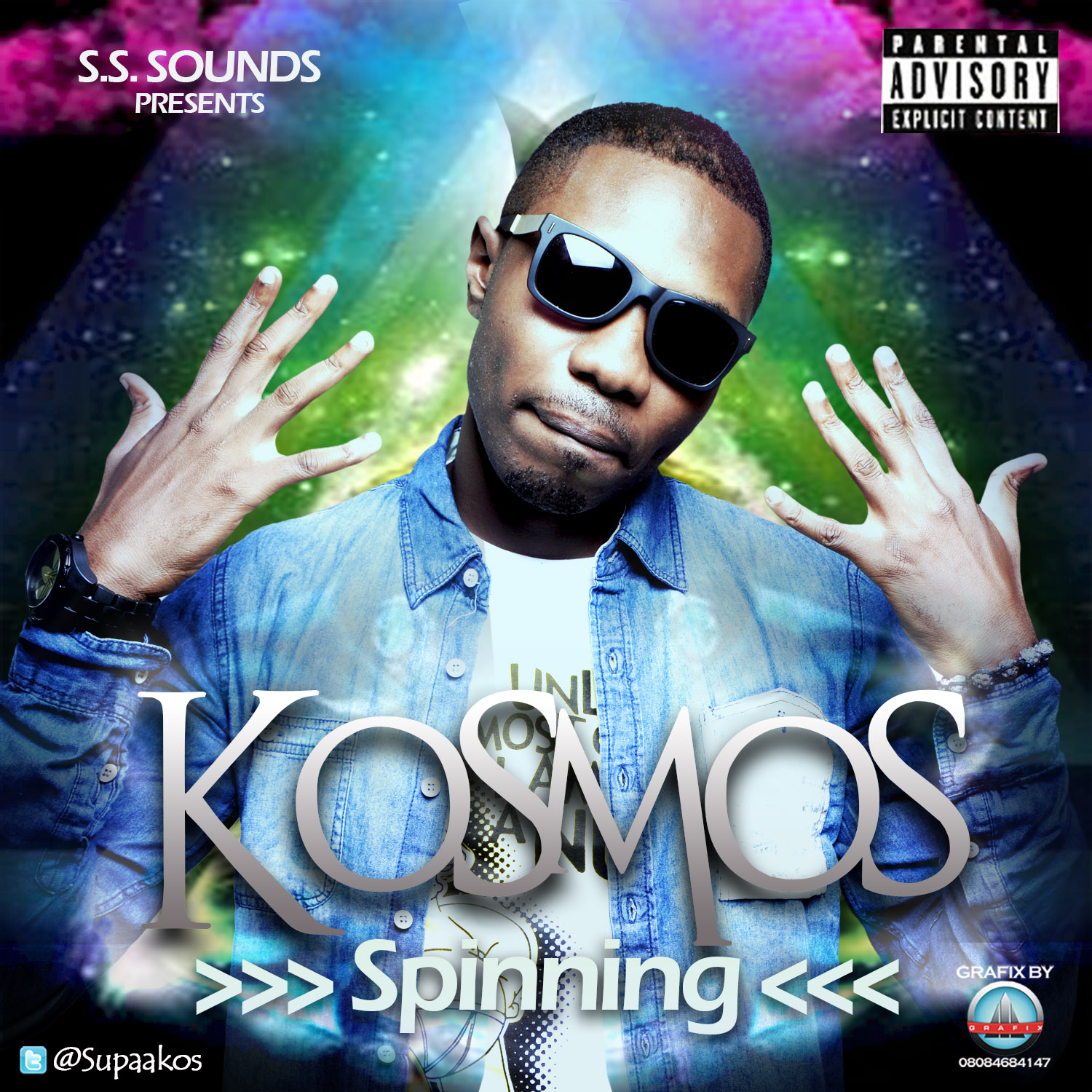 Kosmos - SPINNING Artwork | AceWorldTeam.com