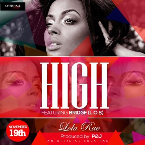 Lola Rae ft. Bridge [L.O.S] - HIGH [WANTING MORE] Artwork | AceWorldTeam.com