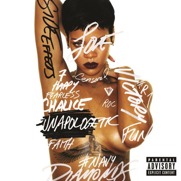 Rihanna - Unapologetic Artwork | AceWorldTeam.com