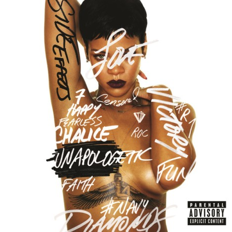 Rihanna - Unapologetic Artwork | AceWorldTeam.com
