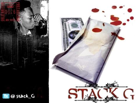 Stack G ft. Greezy & Uzi - BURST MY BRAIN Artwork | AceWorldTeam.com