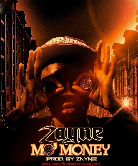 Zayne F ft. Ace - MO' MONEY Artwork   AceWorldTeam.com