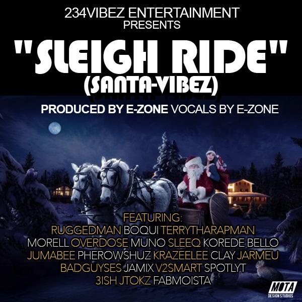 234VIBEZ Entertainment - SLEIGH RIDE [Santa-Vibez] Artwork