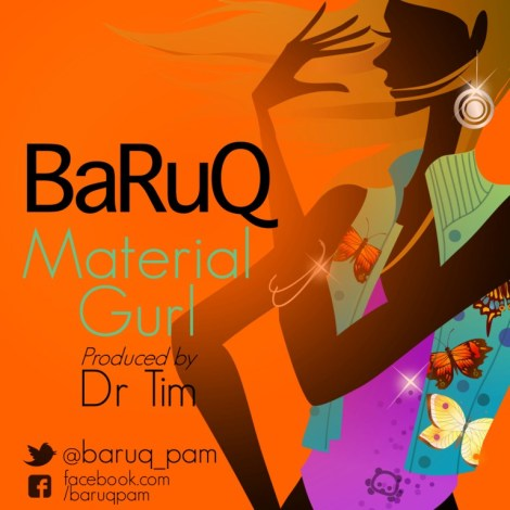 BaruQ - MATERIAL GURL [prod. by Dr. Tim] Artwork | AceWorldTeam.com