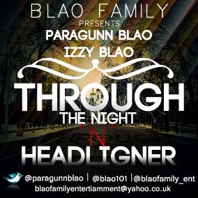 Blao Family - THROUGH THE NIGHT + HEADLIGNER Artwork   AceWorldTeam.com