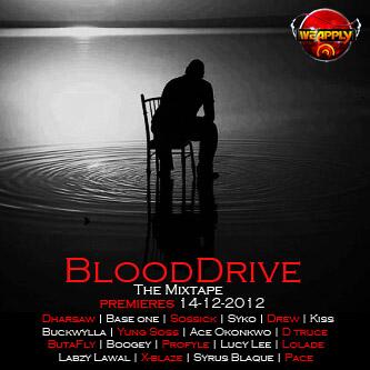 BLOOD DRIVE The Mixtape Artwork