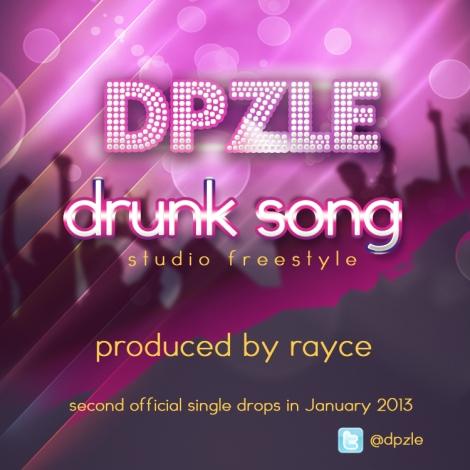 Dpzle - DRUNK SONG [Studio Freestyle] ~ prod. by Rayce Artwork | AceWorldTeam.com