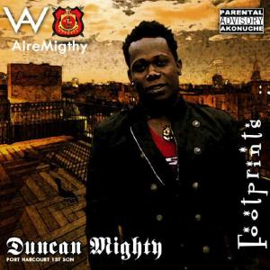 DUNCAN MIGHTY - FOOT PRINTS Artwork | AceWorldTeam.com