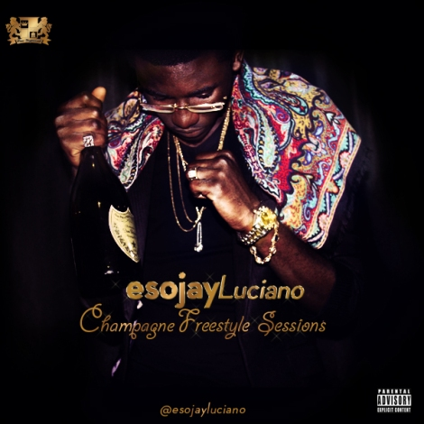 Esojay Luciano - Champagne Freestyle Session Artwork | AceWorldTeam.com