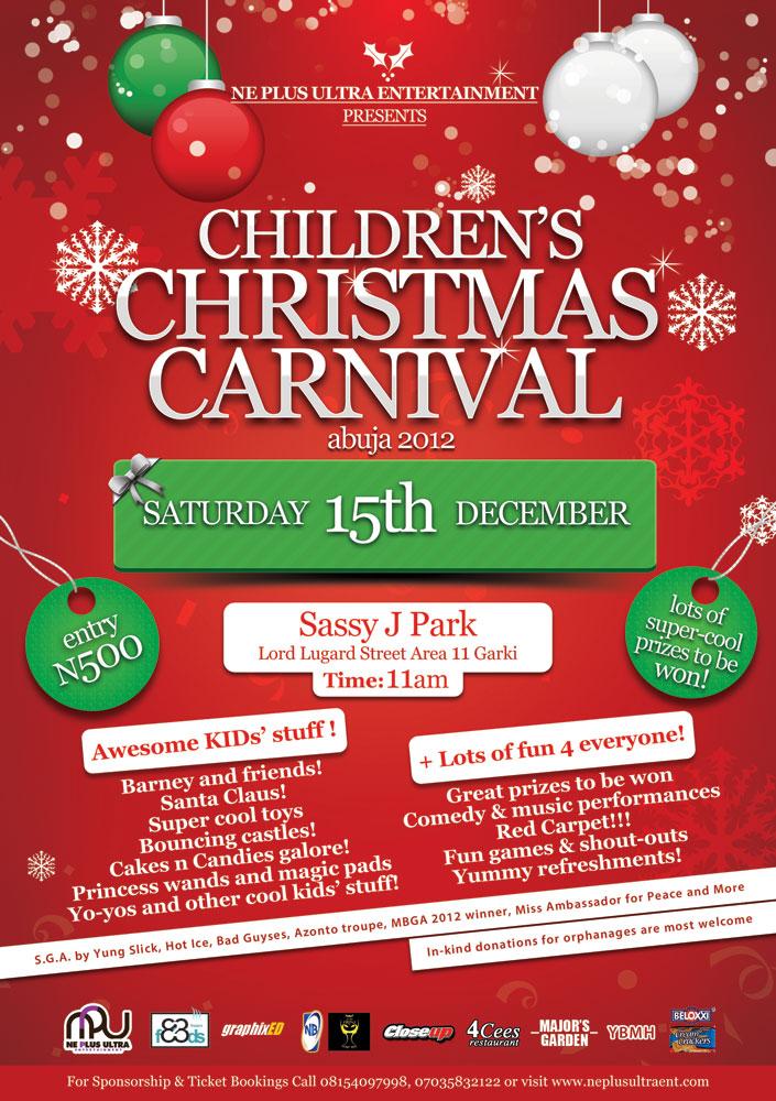 Npu Entertainment Children S Christmas Carnival Abuja