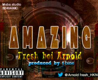 FreshBoi Arnold - AMAZING [prod. by T-Base] Artwork | AceWorldTeam.com