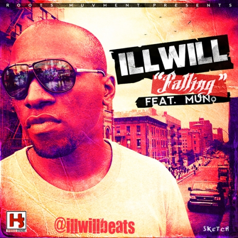 Illwill ft. Muno - FALLING IN LOVE Artwork | AceWorldTeam.com