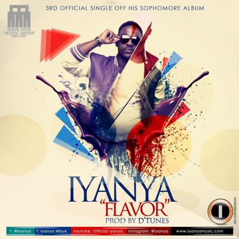 Iyanya - FLAVOUR Artwork | AceWorldTeam.com