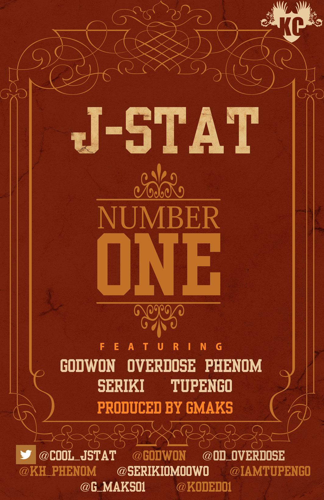 J-Stat ft. OverDose, Godwon, Seriki, Tupengo 'n' Phenom - NUMBER ONE [prod. by G-Maks] Artwork | AceWorldTeam.com