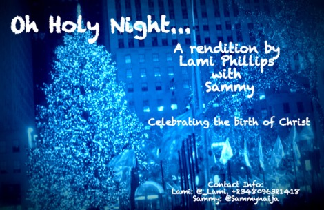 Lami Phillips 'n' Sammy - OH HOLY NIGHT Artwork | AceWorldTeam.com