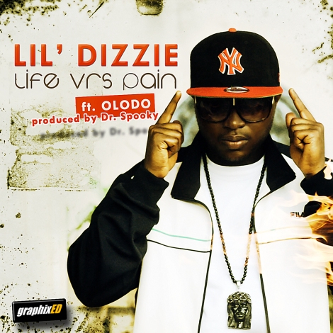 Lil' Dizzie ft. Olodo - LIFE VRS. PAIN [Ghetto Soldier] ~ prod. by Dr. Spooky Artwork | AceWorldTeam.com