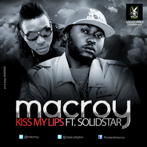 Macroy ft. Solid Star - KISS MY LIPS [prod. by Popito] Artwork | AceWorldTeam.com