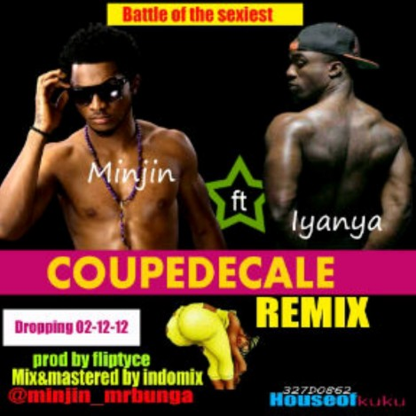 Minjin ft. Iyanya - COUPE DECALE Remix [prod. by Fliptyce] Artwork | AceWorldTeam.com