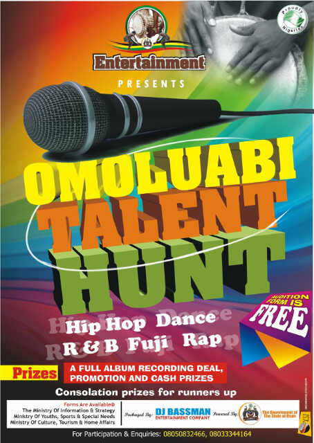 OMOLUABI Talent Hunt | AceWorldTeam.com