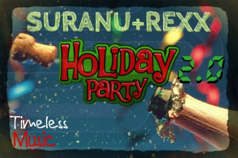 Suranu & Rexx - HOLIDAY PARTY 2.0 [prod. by Charlie X] Artwork | AceWorldTeam.com