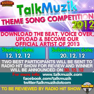 TalkMuzik Theme Song Competition Artwork